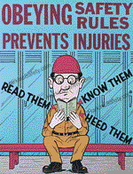 Obeying Safety Rules...