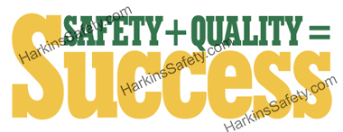 Safety + Quality = Success (Reinforced Vinyl Giant)