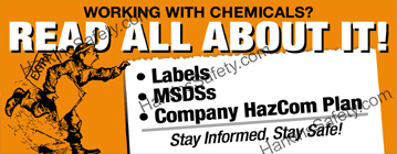 Working with Chemicals? (Reinforced Vinyl Junior)
