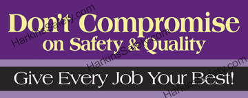 Don't Compromise On Safety & Quality (Poly Indoor Junior)