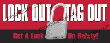 Lock Out Tag Out... (Reinforced Vinyl Junior)