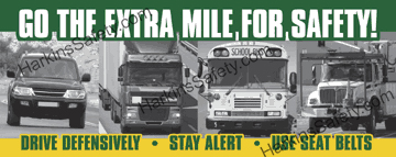 Go The Extra Mile For Safety! (Reinforced Vinyl Junior)