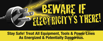 Beware If Electricity's There (Reinforced Vinyl Giant)