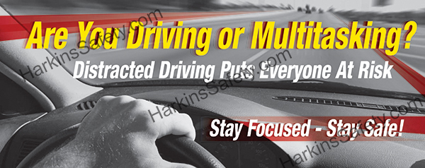 Are You Driving or Multitasking? (Sticker)