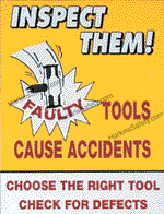 Faulty Tools...Accidents