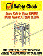 Safety Check/Rails/Scaffold