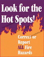 Look For The Hot Spots!...