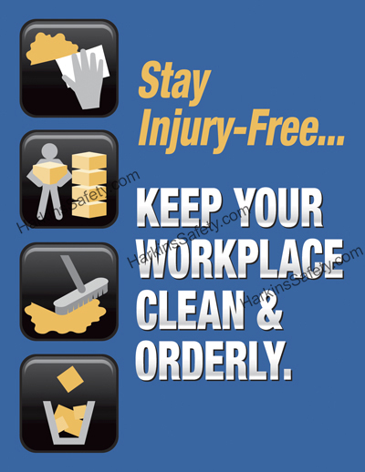 Keep Your Workplace Clean & Orderly