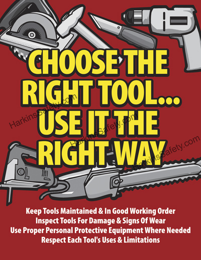 Choose The Right Tool...