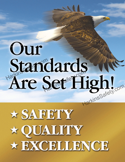 Our Standards Are Set High!