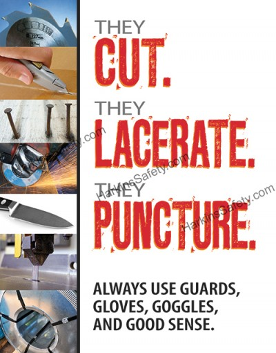 They Cut. They Lacerate. They Puncture...