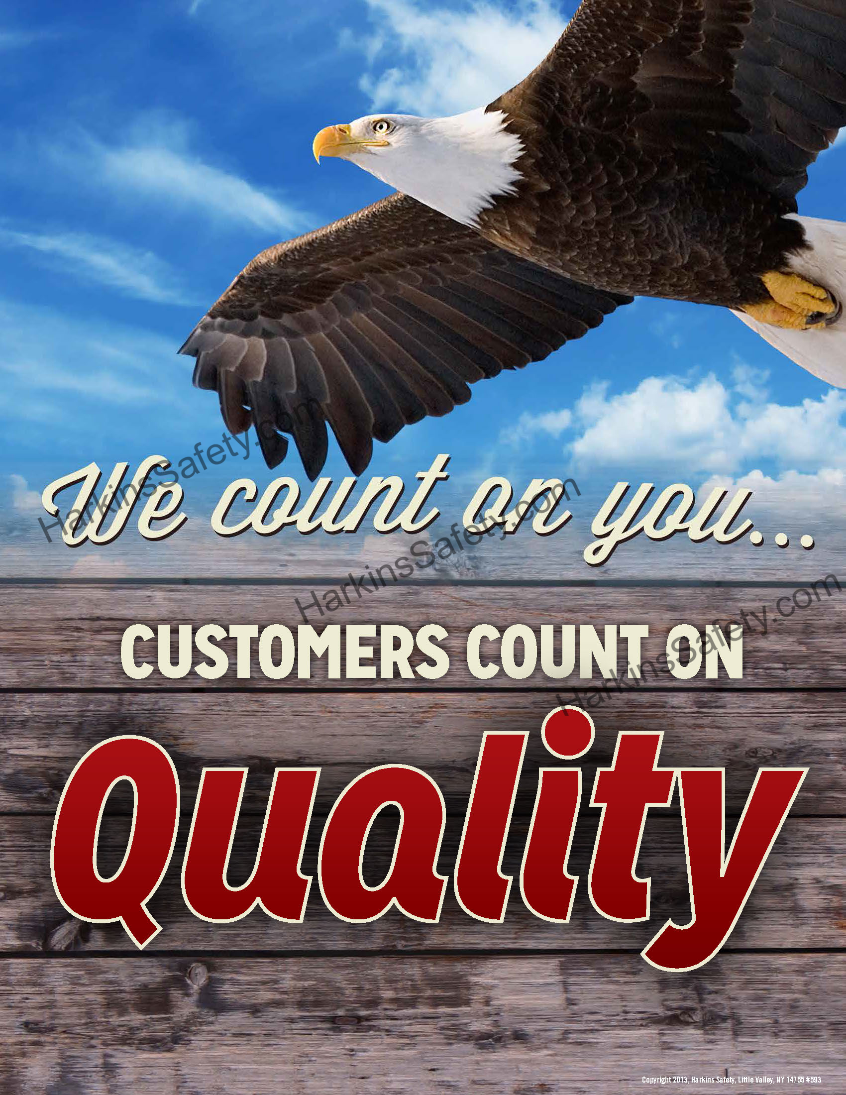 """""""Customers Count On Quality"""""""