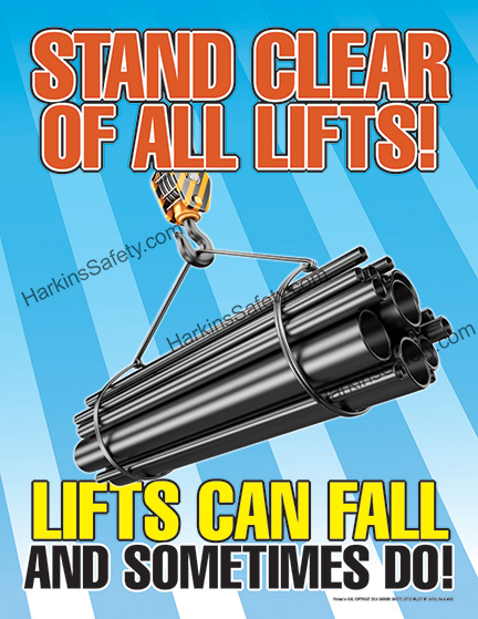 Stand Clear Of All Lifts !!..... Poster