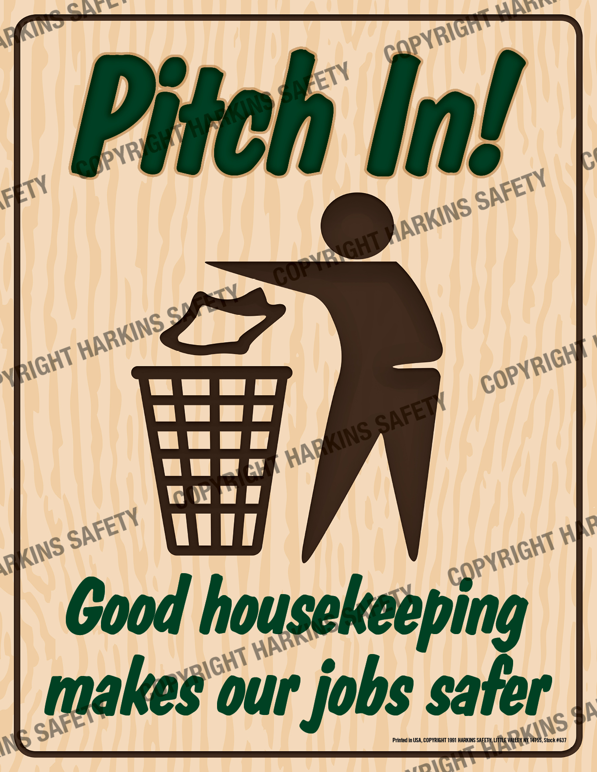 Pitch In...Good Housekeeping.... (Poster)