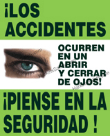 Accidents Happen in the Blink of an Eye (Spanish)