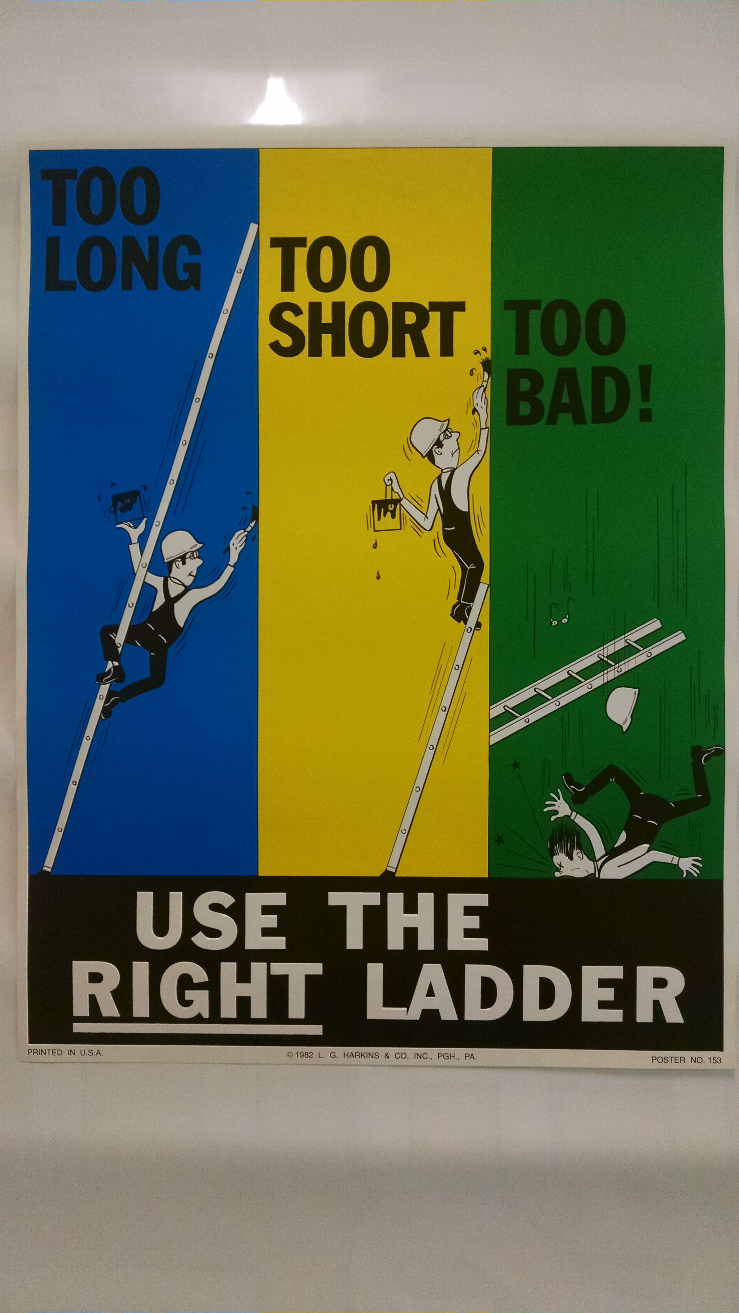 Use The Right Ladder