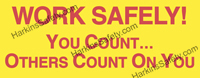 Work Safely You Count...